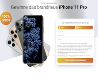 iPhone11Pro Gewinnspiel Affiliate program