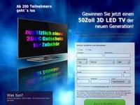 50 Zoll TV Gewinnspiel Affiliate program