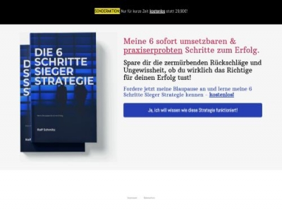 6 Schritte Strategie Affiliate program