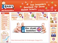Baby Namensschild Partnerprogramm