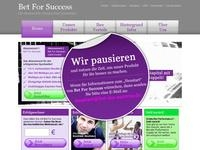 Bet For Success Partnerprogramm