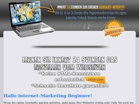 Eigne Verkaufs Webseite Affiliate program