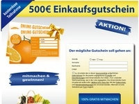Einkaufsgutschein GWS Affiliate program