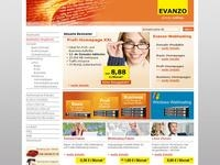 Evanzo webS Affiliate program