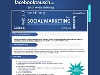Facebooktausch Affiliate program