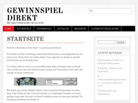 Gewinnspiel direct Affiliate program