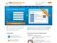 Webvisitenkarte Affiliate program