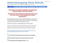 Internet ohne Schufa Partnerprogramm