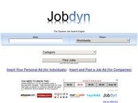 Jobdyn USA UK Affiliate program