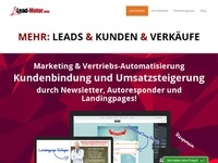 Lead Motor PopDown Partnerprogramm