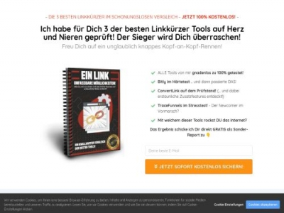 Linktool Vergleich Affiliate program