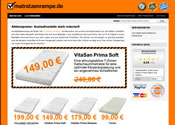 Matratzenrampe Affiliate program