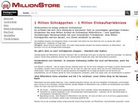 Millionstore PopDown Partnerprogramm