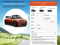 Mini Cabrio Partnerprogramm