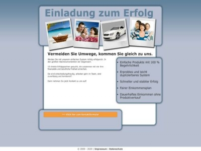 Neues Marketing-System Affiliate program
