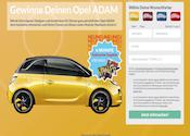 Opel Adam Gewinnspiel Partnerprogramm