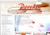Porofin-Shop Partnerprogramm