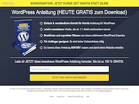 WordPress und Webdesign Affiliate program