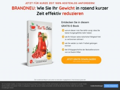 Red Tea Detox Affiliate program
