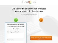 Rich Life Gratis Buch Affiliate program