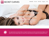 Secret curves Partnerprogramm