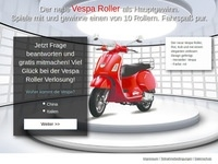Vespa Scooter Partnerprogramm