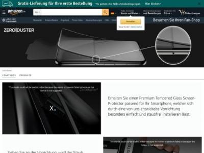 Zeroduster PopDown Partnerprogramm