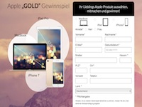 Apple Gold Affiliate program