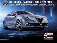 Alfa Romeo Giulietta Affiliate program