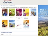 Gebeco Katalog Affiliate program