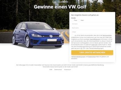 Golf Gewinnspiel Partnerprogramm