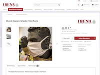 IBENA Protect Masken Affiliate program