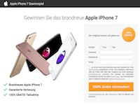 iPhone Pro Gewinnspiel Affiliate program