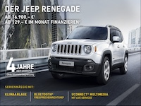 Jeep Renegade Affiliate program