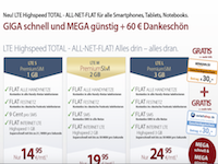 LTE All Flat Partnerprogramm