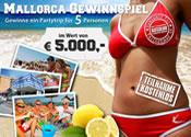 Mallorca Gewinnspiel Partnerprogramm