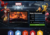 Marvel Heroes Affiliate program