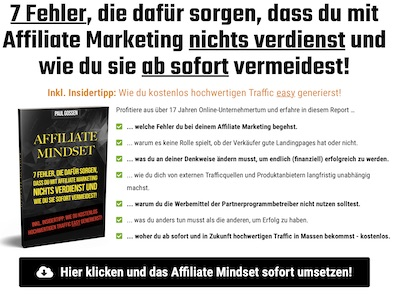 Affiliate Mindset Affiliate program