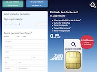 o2 Loop Freikarte Affiliate program