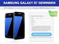 Galaxy S7 SM Gewinnspiel Affiliate program