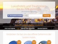 Secret escapes Partnerprogramm