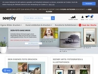 seenby Wandbild Affiliate program