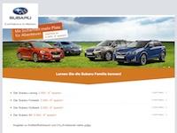 Subaru Probefahrt Partnerprogramm