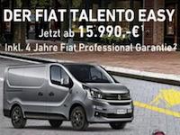 Fiat Talento Partnerprogramm