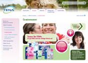Tena Lady Gratisprobe Affiliate program