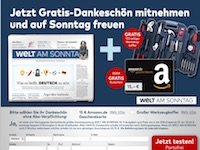 Welt am Sonntag Affiliate program