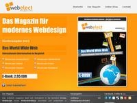 webelect magazine Partnerprogramm